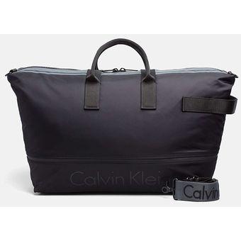 8877d4438 Agotado Bolso Maleta De Mano Viaje Gimnasio Calvin Klein Original Negro