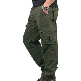 Pantalones Termicos De Trabajo De Invierno Para Hombre Pantalones Con Bolsillo Grueso Para Exteriores Hsj88 Cui Army Green Linio Peru Ge582sp1iz7srlpe