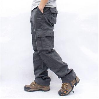 Pantalones Cargo Para Hombre Pantalones Tacticos Militares Con Mult Linio Peru Un055fa0ynwmzlpe