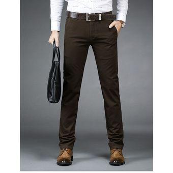 distribuidor mayorista 56921 62f21 Pantalón Formal para Hombre Gaupucean en Algodón-Marrón