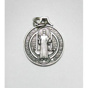 68eaa6cee52 Compra Medalla San Benito 1.7cm Diametro - Color Plata online ...