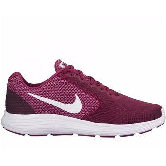 Compra Zapatos Running Mujer Nike Wmns Revolution 3 - Morado online ... c447e28b625