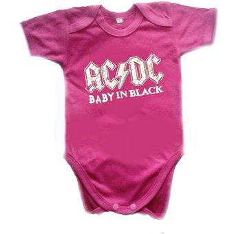 Compra Ropa Bebe Body Bodi AC DC Rock Baby Monster online  f35b1ddbcdd