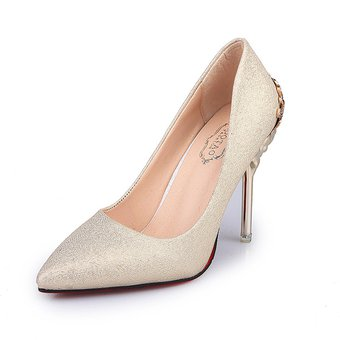 c9a52d4b Compra Zapatos De Tacón Metal Tacón Delgado Zapatos Para Mujer ...