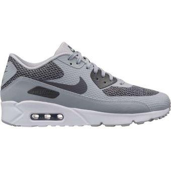 Agotado Zapatillas Deportivas Hombre Nike Air Max 90 Ultra Essential-Gris 1777a488f28c5