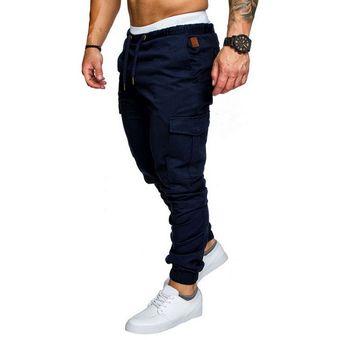 Pantalones Pitillo A La Moda Para Hombre Ajustados Al Tobillo Pantalones Para Correr Pantalones Para Hombre Pantalones Bombachos Con Bolsillos Laterales De Cordon Ropa Deportiva Lisa Color 5 Linio Peru Un055fa1dd4shlpe