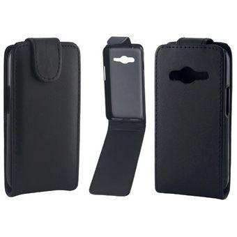 939e92d3e3d Vertical Flip Magnetic Snap - Funda De Cuero Para Samsung Galaxy Ace 4 /  G313f (
