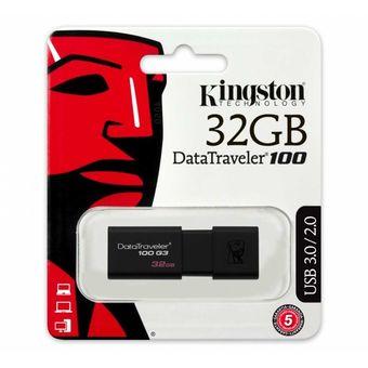 Memoria USB 32 GB Unidad Flash USB DataTraveler 100 G3