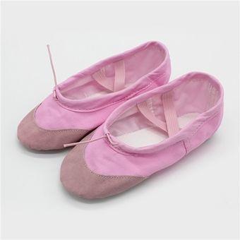 Para Rosa Zapatillas Plano Ballet Talón De Niña R43A5jL
