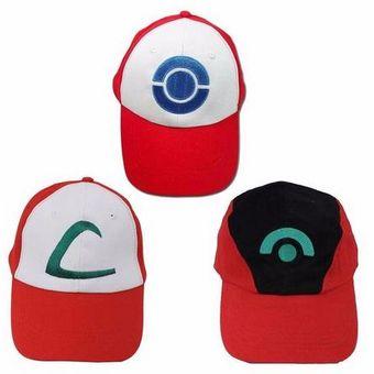 Compra Gorra O Cachuca De Ash Ketchum Del Anime Pokemon Cosplay ... 5a297e333ce