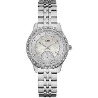 Compra Reloj GUESS Whitney W0931L1 Plateado Para Mujer online ... fa4d065750c4