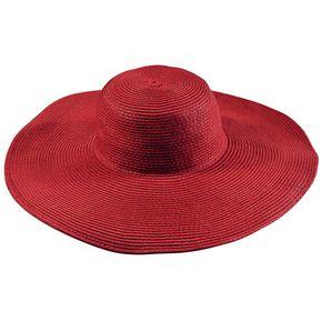 E-Thinker Sombrero Para El Sol Para Playa Sombrero Grande Gorra-Rojo 9211145ad97