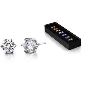 22225a499a89 Compra Aretes Con Incrustaciones De Cristales