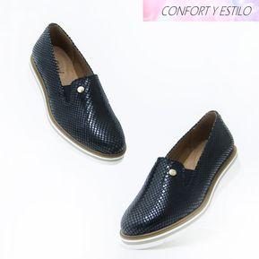 e9b250220ade8 Zapatos Flexi 45703 Comodos y Bonitos para Dama - Negro