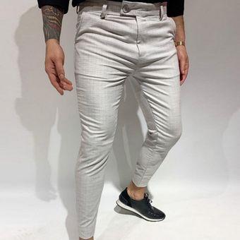 Pantalones Casuales De Tela Escocesa Para Hombre Pantalones De Vestir Formales Para Fiestas Pa Yua Linio Peru Un055fa0ro5jblpe