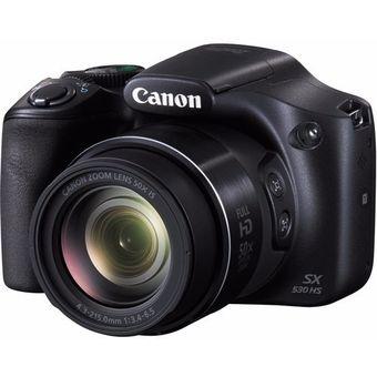 Camara Canon Sx530 16mp 50x Kit Bolso + Memoria 16gb promociones de hot week