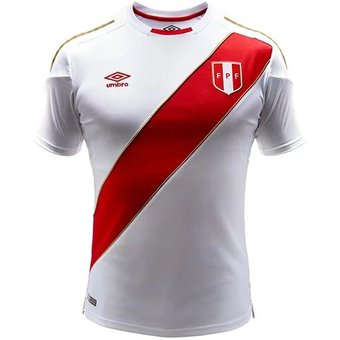 Compra Camiseta Nacional De Peru (oficial Rusia 2018) Umbro KSPEHJ17 ... f572de18d9ed6