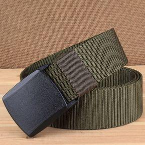 YKK 3.8 cm de ancho al aire libre Senderismo Cinturón deportivo Cinturón a80710a10be0