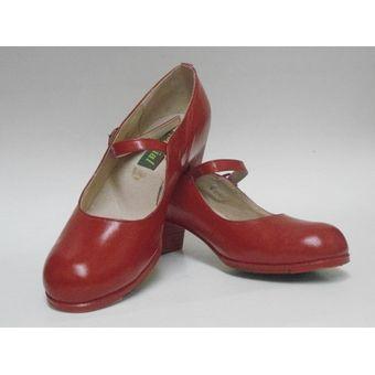 6ff0494d3 Calzado Para Baile Folklorico O Flamenco Est 125-Rojo