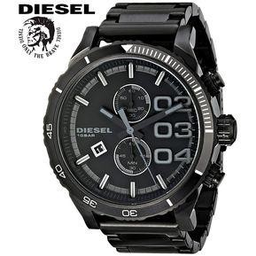 4dce2a2f3407 Reloj Diesel Double Down DZ4326 Cronometro Acero Inoxidable - Negro