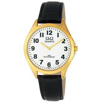 Reloj Q&Q C192J104Y Para Caballero En Cuero Negro Fondo Blanco | Linio  Colombia - QQ846FA05AGLSLCO