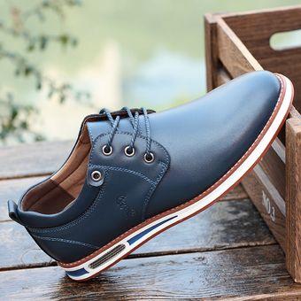 Compra Ecocuero Aumento Altura Zapatos De Para Hombres Azul MVpqUSzG