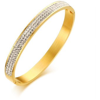13608f5ce501 Bracelet Joyería De Moda Brazalete Pulsera Swarovski Elements Anillo De La  Mano De Los Mujeres De