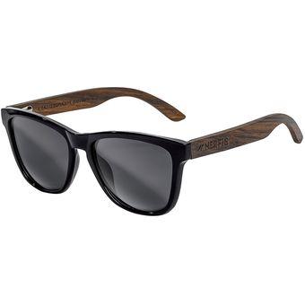 d5d1e75963 Compra Anteojos de sol Nerfis booken bambú black - Negro online ...