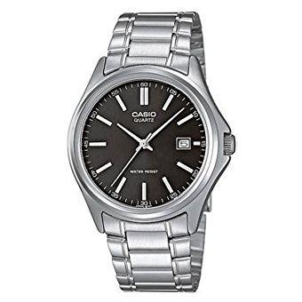 2cd7d7c304a4 Compra Reloj Casio MTP1239D-1A-Plateado - Negro para Hombre online ...