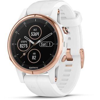 edede9c7ecc8 Compra Reloj GPS Garmin Fenix 5s Plus Zafiro Oro Rosa (Music) online ...