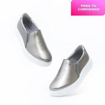 Compra Zapatos Flexi 36304 Bonitos para Dama - Plata online  33b0c31da179