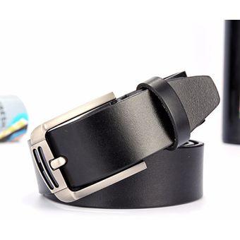 0f69f8c478be1 Compra Correa de los hombres de moda de cuero Jeans cinturón-110CM ...