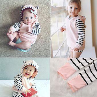 8ba373c6b72b8 Ropa de bebé Streak patrón niños de algodón de una sola pieza de bebé de  manga