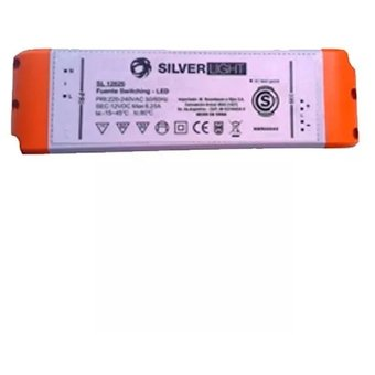 Fuente Switching Silverlight 30w 12v 2.5a Apto Tiras De Led