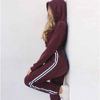 Nueva Sudadera Con Capucha De 2 Uds De Moda Para Mujer Pantalones Linio Peru Un055fa1l37c6lpe