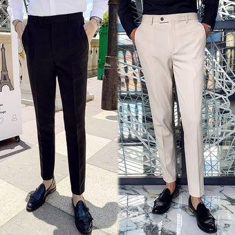 Pantalones De Vestir Para Hombre Traje Masculino Pantalones Formal Linio Peru Un055fa1e1nwzlpe