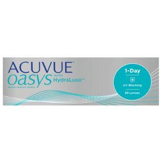 dad3d5c93f9ed Agotado Lentes De Contacto Acuvue Oasys With Hydraluxe 1 Day Para Miopía