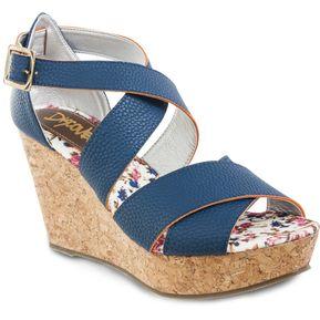 Sandalias Amazonita Azul Para Mujer Croydon 7cfdf5edeebc