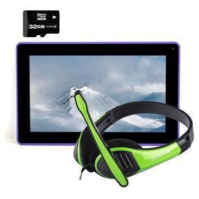 cd860c18c2d Tablet Android Digital2 9 Deluxe Ii 8gb + Sd 32gb y Diadema - Morado