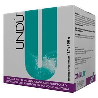 Undú caja OMNILIFE - Glucosamina - Arginina