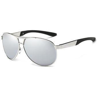 35018bc37d Compra Gafas Lentes Sol UV400 Polarizados HDCRAFTER ABS Plateado ...
