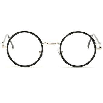 fbb6ff108f Agotado Las Lentes ópticas Vintage ópticos Gafas Redondo Los Anteojos  Grande Marco Estudiante Miopía -N P