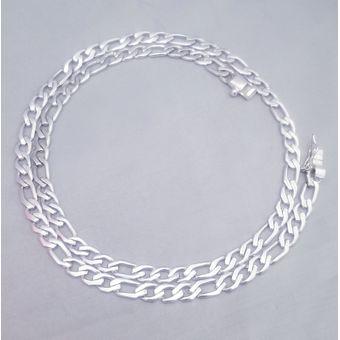 68f139f15489 Compra Cadena En Plata 950 Modelo Hexagonal Plana De 36.5 Gramos ...