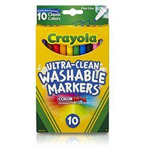 Crayola Color Wonder lío libre Mini Marcadores 10ct-Pastel