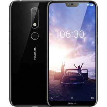 Smartphone Nokia X6 (4+64GB) – Negro