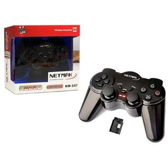 Gamepad Pc Joystick Inalámbrico 3en1 Para Sony Ps2 Ps3 Usb