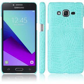 4457b462a48 De Cocodrilo Textura Protectora Delgado AntiScratch PC Caso Case Para Samsung  Galaxy Grand Prime Plus / J2 Prime Azur
