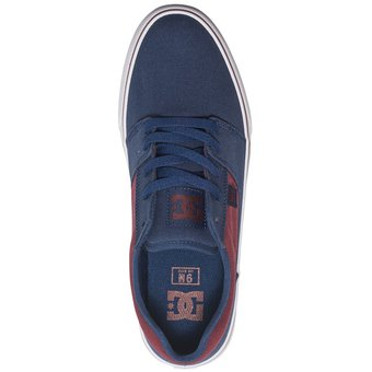 53d97b163f15e Compra Zapatilla DC Shoes TONIK TX Para Hombre-Azul Y Guinda online ...