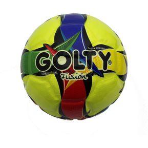 8aa1de4ee27d9 Balon Para Microfútbol Profesional Fusion T666314 - Amarillo