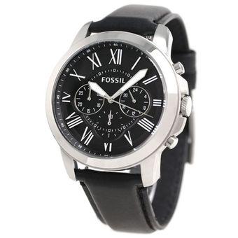 9387cb672da4 Compra Reloj Fossil FS4812IE Negro Hombre Cuero online